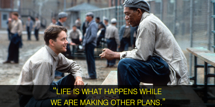 shawshank redemption dialogues